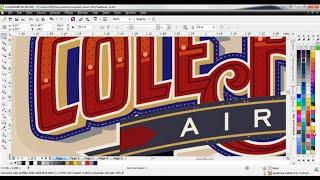 getlinkyoutube.com-CorelDRAW® Tutorial | Creating Custom Lettering Effects