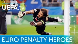 getlinkyoutube.com-Best EURO penalty shootout saves: Schmeichel, Seaman and Casillas