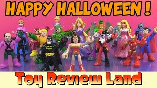 Batman's Halloween Party with all the DC and Marvel Super Heroes and Super Villians!