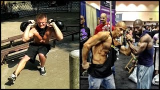 getlinkyoutube.com-TOP 3 Workout LEGENDS. Who Better: Adam Raw, Frank Medrano or Hannibal for king? 2016 [HD]