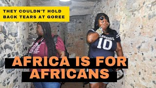 BLACK AMERICAN SISTERS EMOTIONAL TRIP TO AFRICA #AfricaIsForAfricans