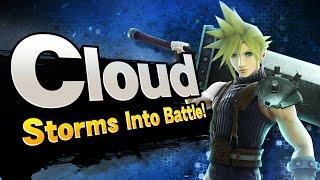 getlinkyoutube.com-Super Smash Bros. - Cloud Storms into Battle!