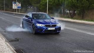 Drift - Bmw M5 F90 ★ Burnout & Acceleration