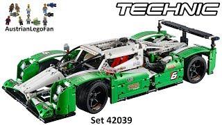 getlinkyoutube.com-Lego Technic 42039 24 Hours Race Car / Langstrecken Rennwagen - Lego Speed Build Review