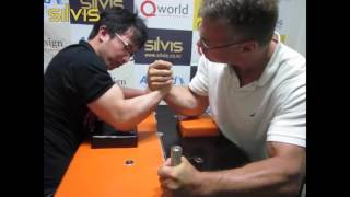 getlinkyoutube.com-[팔씨름] 홍지승 vs 존 블젱크 ┃ JiSeung Hong vs John Brzenk (2013-07-08)
