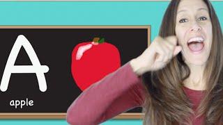 getlinkyoutube.com-Phonics, alphabet and sign language children's song by Patty Shukla