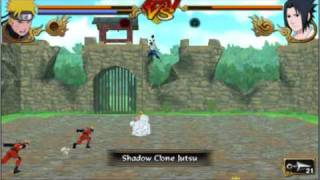getlinkyoutube.com-naruto shippuden legends akatsuki rising NARUTO VS SASUKE