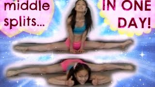 getlinkyoutube.com-How to Get MIDDLE SPLITS in ONE DAY