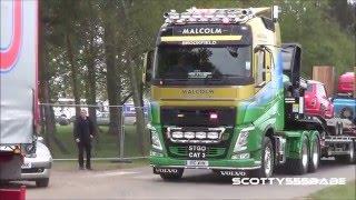 Truckfest 2015 @ Peterborough Part 2 Trucks on the move