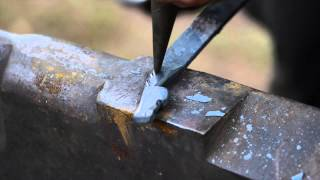 getlinkyoutube.com-How to Forge Small Horse Head by Brian Brazeal