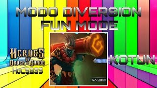 getlinkyoutube.com-Heroes of Order & Chaos | Fun Mode | Kotun