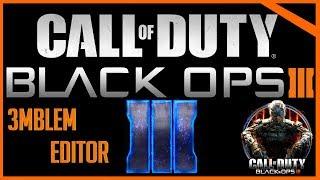 "Call Of Duty Black Ops 3: Emblem Tutorial ""BO3 Logo"""