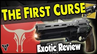 getlinkyoutube.com-Destiny: The First Curse Exotic Hand-Cannon Review! | THE FIRST CURSE PVP GAMEPLAY