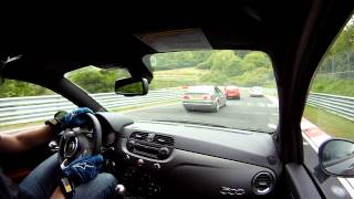 getlinkyoutube.com-SERIAL DRIVER NURBURGRING : 500 Abarth 595 Competizione (Sylvain 1)