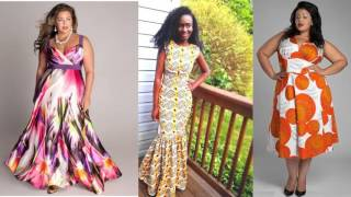 getlinkyoutube.com-African Trendy Dresses Pictures | Modern Unique Latest African Fashion Wears & Cloths For Woman