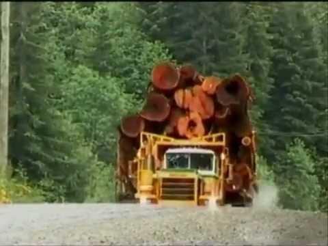 Caminhões madereiros suecos