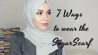 getlinkyoutube.com-HIJAB TUTORIAL   7 Ways to wear the SugarScarf
