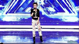 HD Turn My Swag On by Cher Lloyd -Audition on X-FACTOR 2010