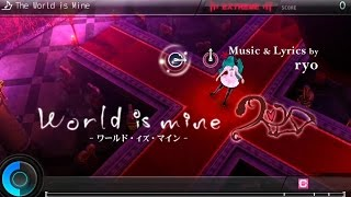 getlinkyoutube.com-Hatsune Miku: Project DIVA F 2nd - The World is Mine (Extreme) [Perfect]