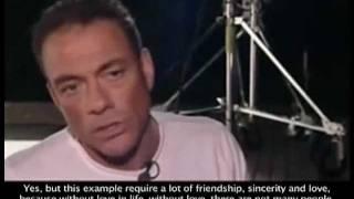getlinkyoutube.com-Jean-Claude Van Damme - L'homme derrière l'acteur. Respect à toi JCVD