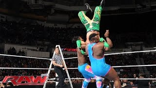 getlinkyoutube.com-The Lucha Dragons vs. The New Day: Raw, December 7, 2015