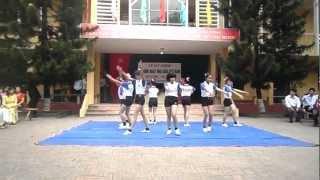 getlinkyoutube.com-Nhảy AEROBIC chào Mừng Ngày 20/11 tập thể lớp 10a9 thpt Cẩm Lý Lục Nam BG