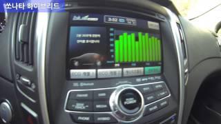 [뻥연비 해부] 쏘나타 하이브리드와 렉서스 ES300h, 연비 비교해보니