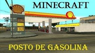 getlinkyoutube.com-Minha Cidade em Minecraft #05 (POSTO DE GASOLINA)