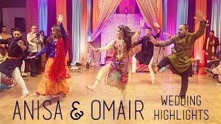 getlinkyoutube.com-Pakistani Mehndi and Wedding Highlights | Anisa & Omair | AAcreation
