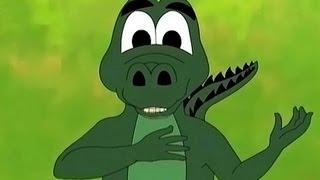 getlinkyoutube.com-Moral Stories - Monkey And The Crocodile - English Animation 21