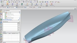 getlinkyoutube.com-ship part 3 siemens nx 8.5 surfaces training - mesh surface through curve mesh