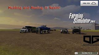 getlinkyoutube.com-Farming Simulator 2013- Mudding, Camping and Hauling!