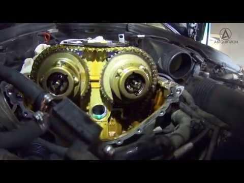 На пальцах' о проблемах цепей ГРМ M271 Mercedes Benz W204 W203