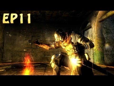 Dark Souls Walkthrough - Four Kings Boss Battle (EP11)