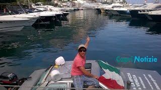 Video: Da La Spezia a Venezia passando per Capri con l'auto subacquea di Marco Amoretti