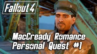 getlinkyoutube.com-Fallout 4 - MacCready Romance - Personal Quest #1