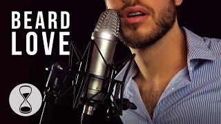 ASMR   Beard Scratching & Close Up Whispering (Ear to Ear, Scratching, Combing, Beard to Mic)