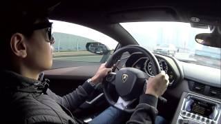 getlinkyoutube.com-람보르기니 아벤타도르 체험기 2편! Lamborghini Aventador LP 700-4 test-drive (no.2)