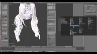 getlinkyoutube.com-The art of Darkstorm OVA- How to turn Sculpty hair into Mesh hair