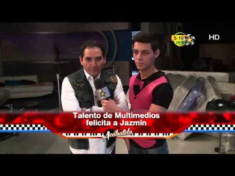 Talento de Multimedios felicita a Jazmín