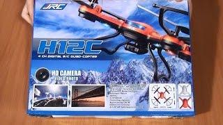 getlinkyoutube.com-JJRC H12C - дешевый квадрокоптер с камерой и автовозвратом
