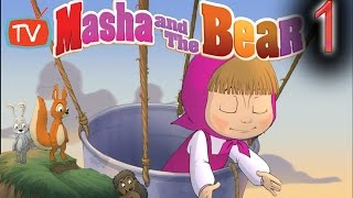 getlinkyoutube.com-Funny Masha And The Bear Games Search And Rescue Kids And Baby gaming gameplay