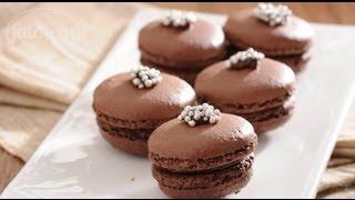 المكرون بالشوكولاتة - ملح وفلفل - فتافيت