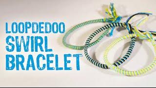 getlinkyoutube.com-Loopdedoo Swirl Bracelet Tutorial