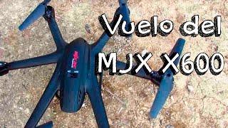 getlinkyoutube.com-VUELO DRONE MJX X600 EN ESPAÑOL: Hexacopter barato calidad precio