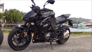 getlinkyoutube.com-2014 Kawasaki Z1000 stock exhaust