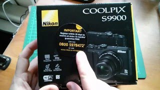getlinkyoutube.com-Nikon Coolpix S9900 Compact Camera Unboxing