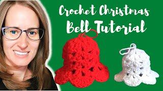 Christmas Bell Ornament Crochet Tutorial