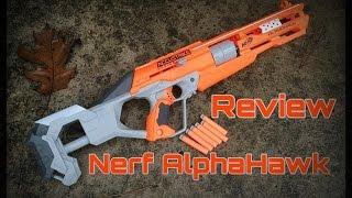 getlinkyoutube.com-Honest Review: Nerf AlphaHawk, Accurate Revolver/Rifle