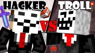 Hacker vs. Troll - Minecraft